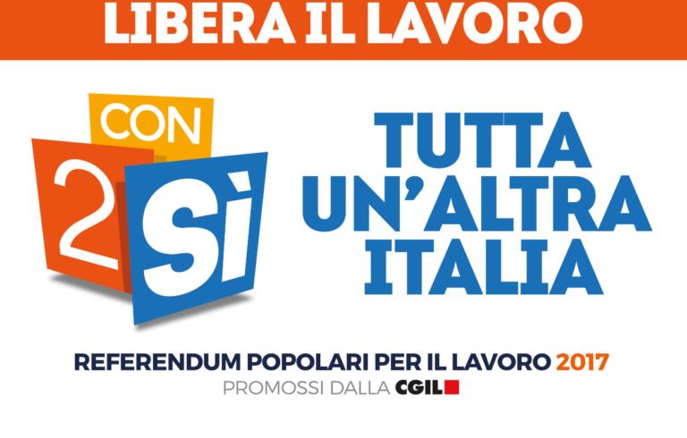 Referendum Cgil – Un'occasione imperdibile