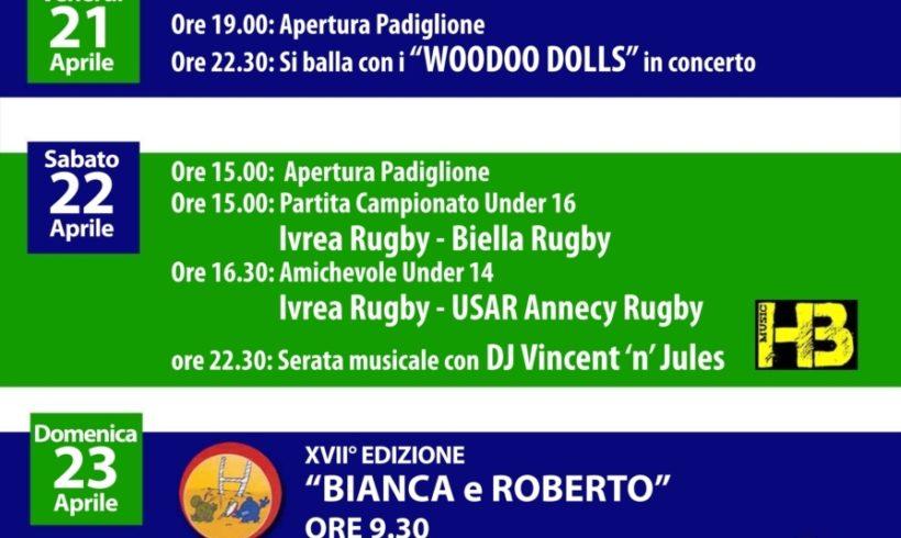 """Torneo giovanile nazionale di rugby """"Bianca & Roberto"""""""