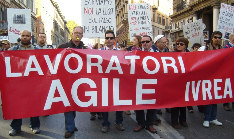 Agile ex Eutelia: una lotta mai finita