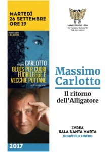 Massimo Carlotto @ sala Santa Marta