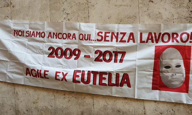 Agile ex-Eutelia: manifestazione a Roma per riaprire il tavolo di confronto