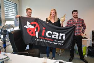 Nobel per la pace all'ICAN