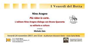 Editoria e cultura @ Auditorium Liceo Botta
