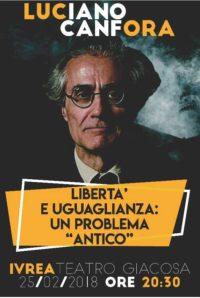 Luciano Canfora @ Teatro Giacosa
