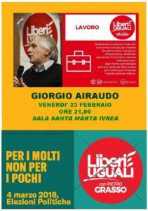 Giorgio Airaudo @ Sala S.Marta
