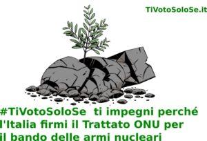 """Le organizzazioni canavesane unite per la campagna """"TiVotoSoloSe"""""""