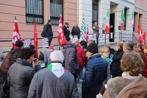 Momenti di antifascismo – Report del 10 febbraio a Ivrea e Biella