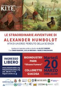 """Alexander von Humboldt per KITE @ Bioindustry Park """"Silvano Fumero"""""""