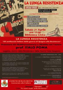 La lunga Resistenza @ Biblioteca civica