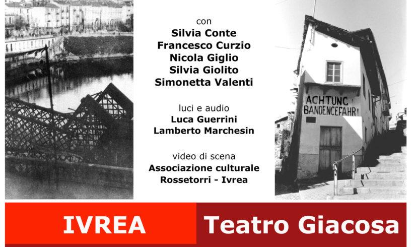 """La Resistenza con """"Oltre il ponte"""" al Teatro Giacosa"""