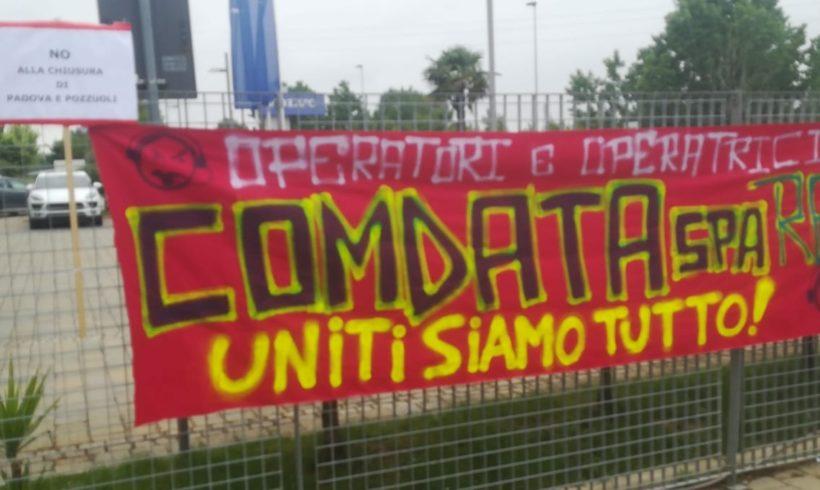 Comdata: lunedì 17 sciopero di due ore con assemblea aperta