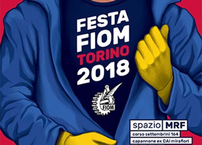 Festa Fiom a Torino dal 6 all'8 settembre