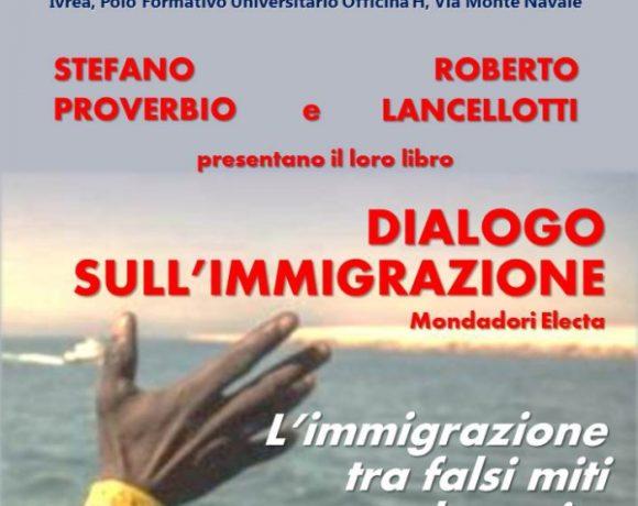 """Forum Democratico del Canavese: presentazione del libro """"Dialogo sull'immigrazione"""""""