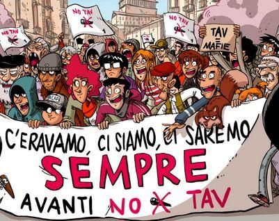 Sabato 8 Manifestazione NOTAV a Torino
