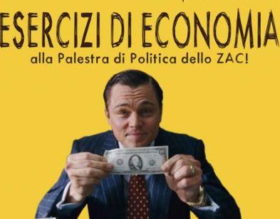 """Esercizi di economia alla Palestra Politica: venerdì 14 """"Debito pubblico e privato"""""""