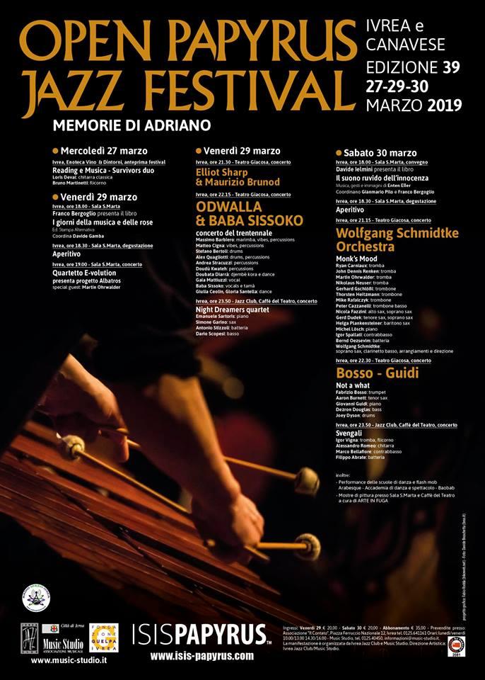 Open Papyrus Jazz Festival @ Ivrea