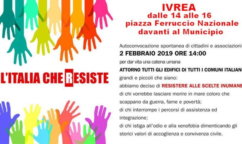 L'Ivrea che resiste sabato 2 febbraio in piazza