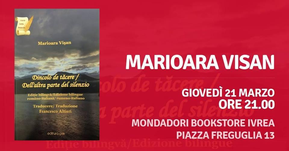 Marioara Visan @ Libreria Mondadori