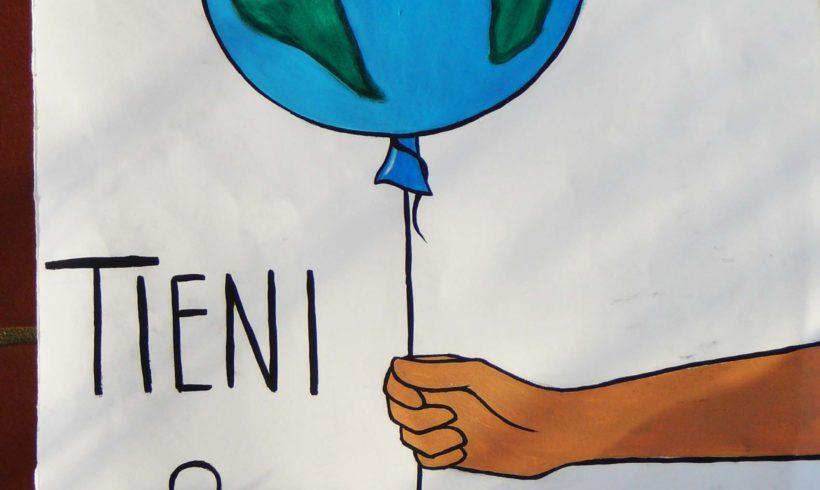 """Esposizione degli elaborati dei ragazzi delle scuole eporediesi sul tema """"salviamo il pianeta"""""""