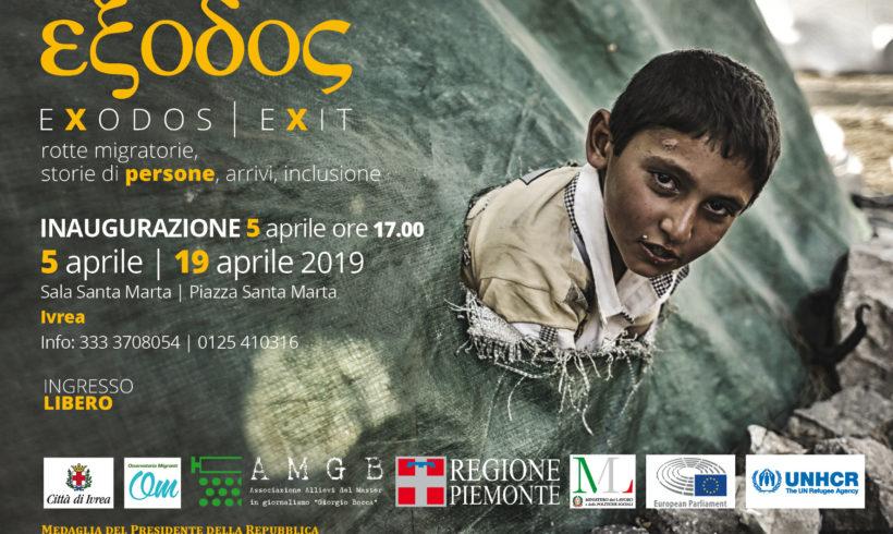 """Arriva anche a Ivrea la mostra """"Exodos: storie di persone, migrazioni, arrivi e inclusione"""""""
