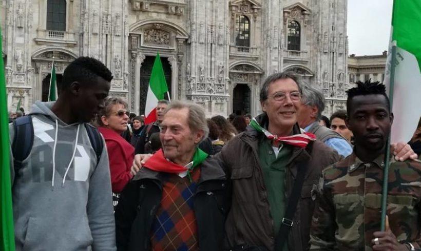 """L'Italia civile a Milano per ribadire un solo principio: """"Prima le persone!"""""""