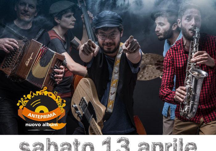Sabato 13 aprile concerto per Emergency del gruppo folk rock valdostano L'Orage