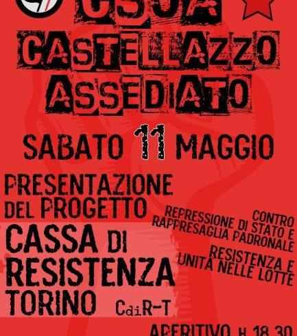 Progetto di Cassa di Resistenza-Torino al Castellazzo d'Ivrea