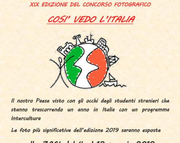 """Concorso fotografico """"Così vedo l'Italia"""": il nostro paese visto con gli occhi di studenti stranieri"""
