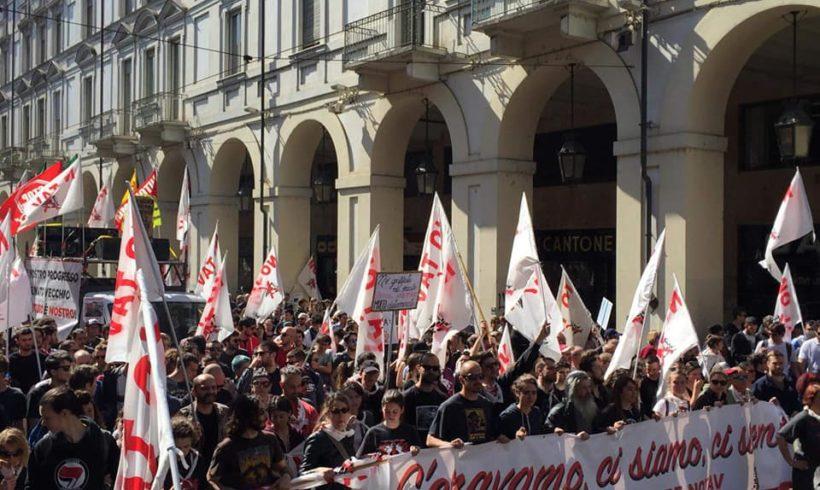 Primo maggio a Torino festa dei lavoratori o festa privata?