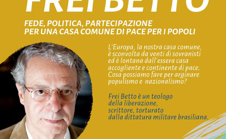 Fede, politica, partecipazione: incontro con Frei Betto ad Albiano d'Ivrea