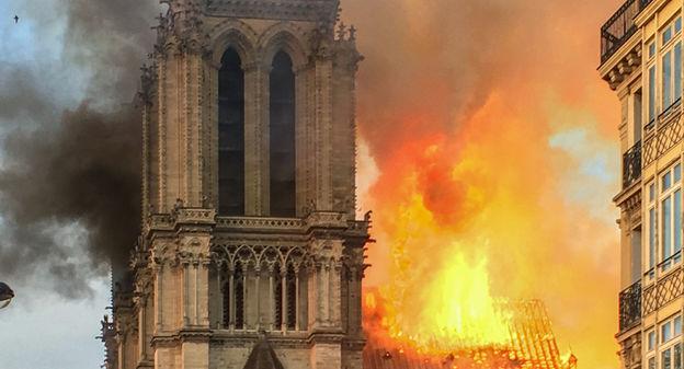 Fuoco su Notre-Dame, ovvero l'aberrazione della mente
