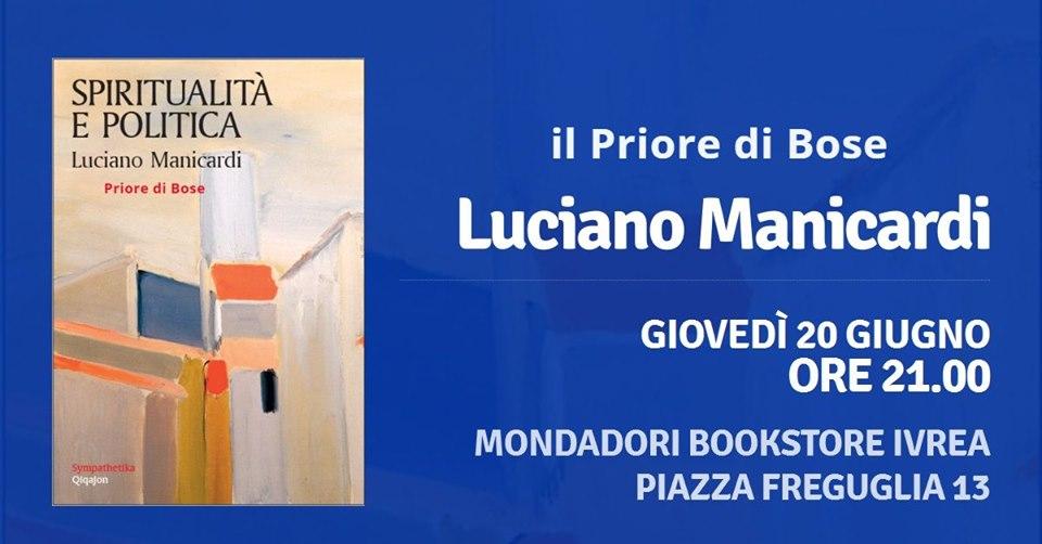 Luciano Manicardi @ Libreria Mondadori