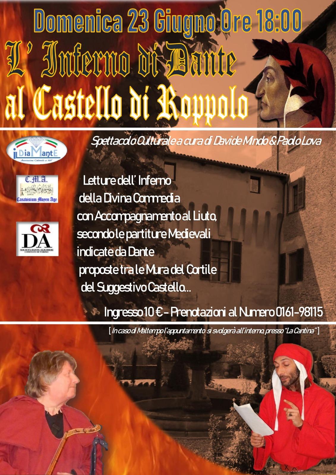 L'Inferno di Dante @ Castello di Roppolo
