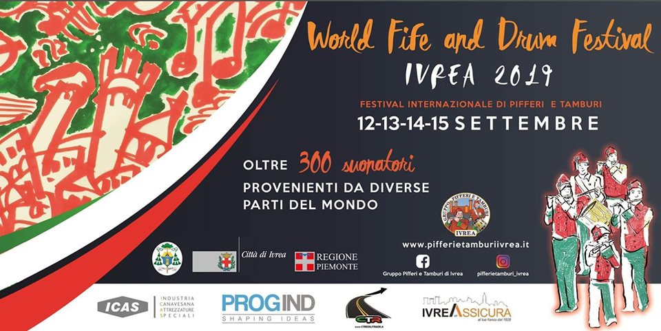 World Fife and Drum Festival @ Ivrea