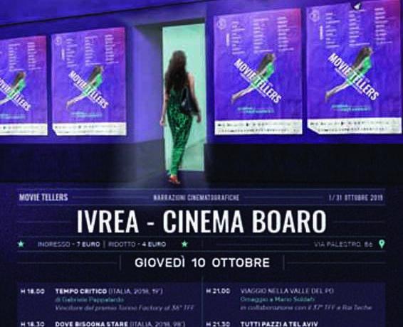 Movie Tellers il 10 ottobre al Boaro di Ivrea