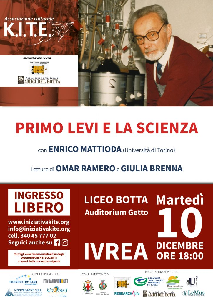 Primo Levi e la scienza @ Auditorium Liceo Botta
