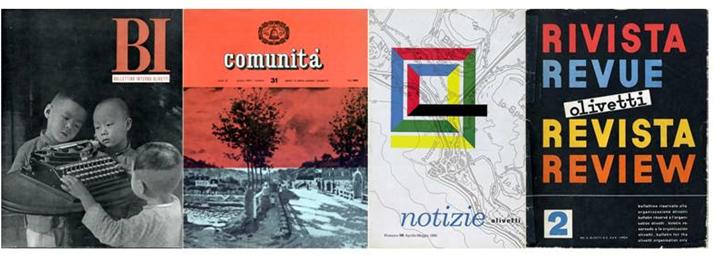 Riviste e periodici Olivetti @ Museo Garda
