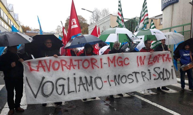 Manifestazione MGC-Manital a Ivrea. Una delegazione ricevuta in Comune.