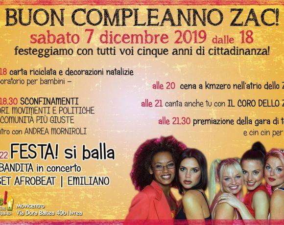 Buon compleanno ZAC!