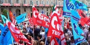 """Cgil Cisl Uil lanciano la """"vertenza Torino"""": il 13 dicembre manifestazione con fiaccolata"""