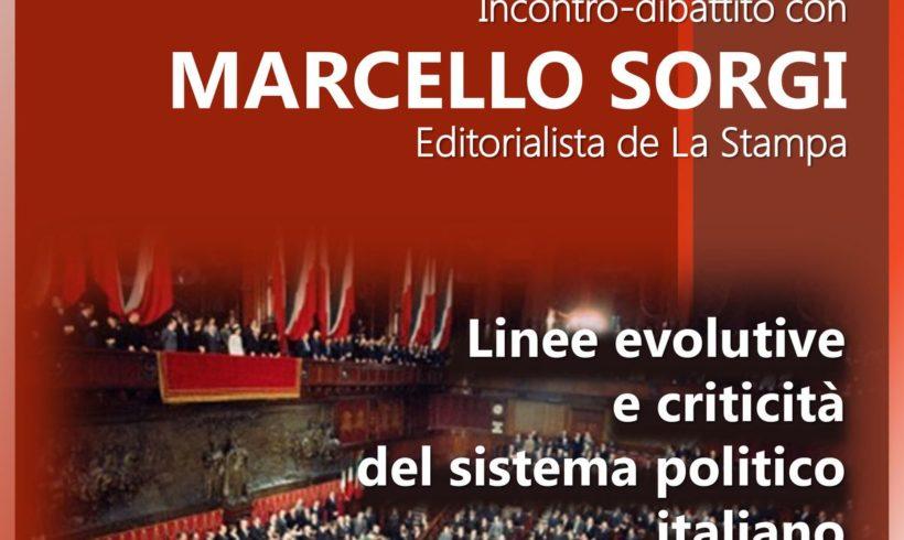 Incontro al Forum Democratico – Linee evolutive e criticità del sistema politico italiano