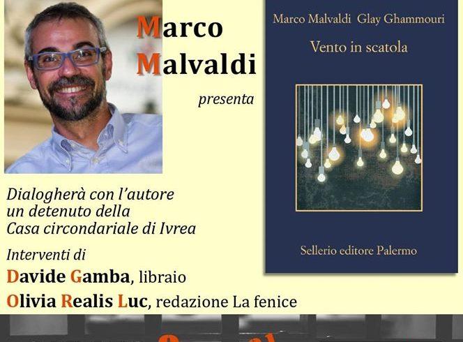 Sabato 8 febbraio Marco Malvaldi e La Fenice