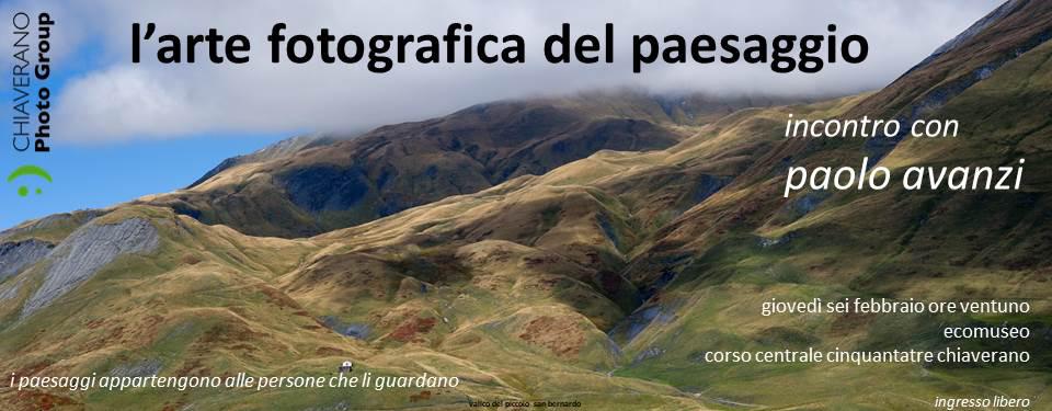 L'arte fotografica del paesaggio @ Ecomuseo