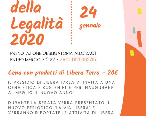 Cena della Legalità 2020