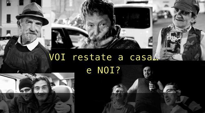 La Città Metropolitana di Torino segnala una raccolta fondi per chi a casa non può stare