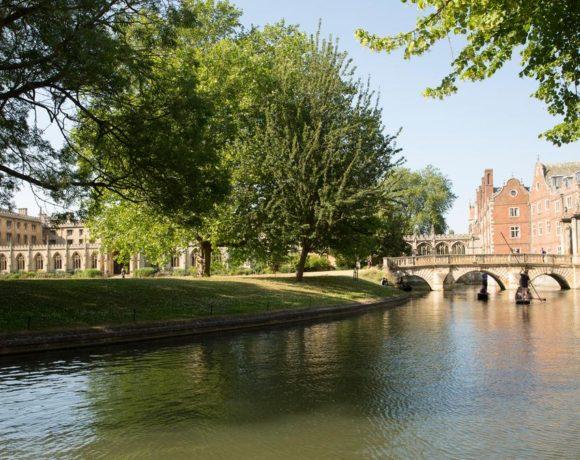 Vista da qui … Un flash da Cambridge (UK)