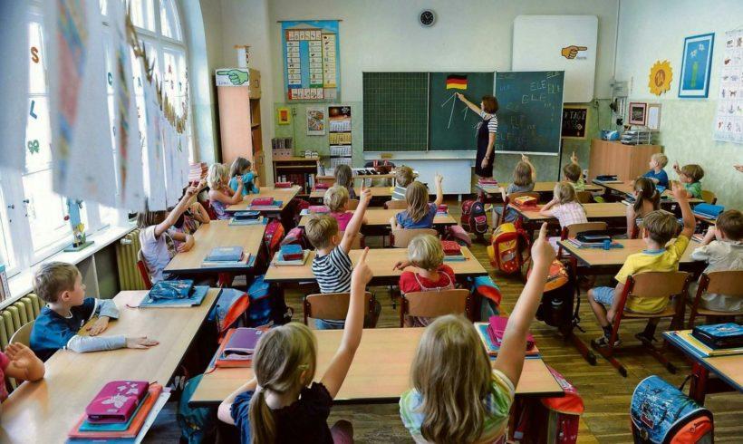 Tutti gli alunni in aula