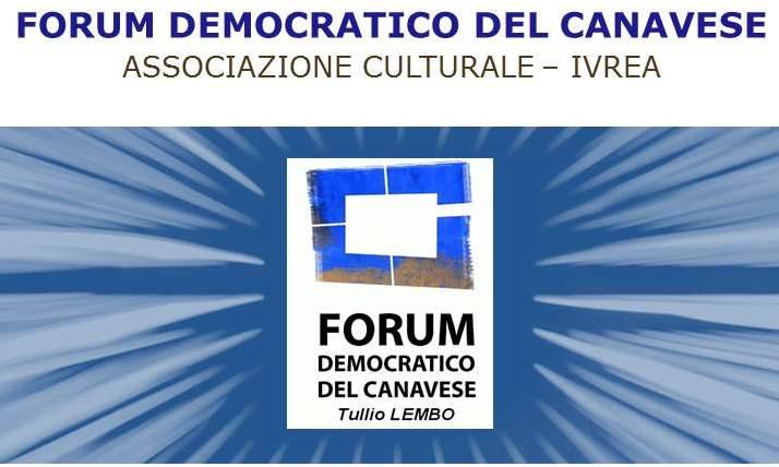 """Norberto Patrignani """"video-ospite"""" del Forum Democratico del Canavese"""