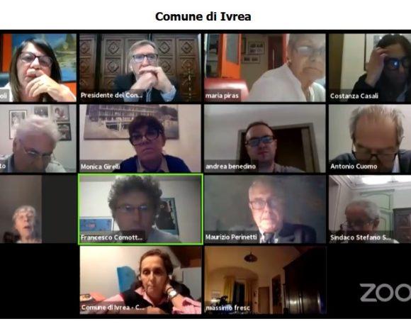 Link, mozioni e interpellanze del Consiglio Comunale d'Ivrea di giovedì 28 maggio