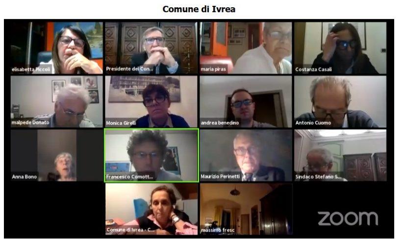 Anche online il Consiglio Comunale di Ivrea è uno spettacolo